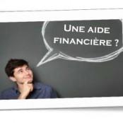 Une aide financière